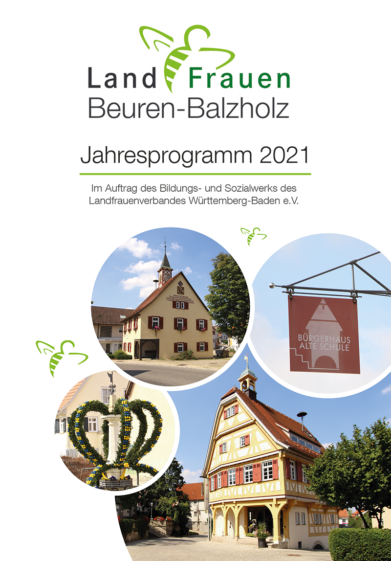 Landfrauen Beuren Programm 2021